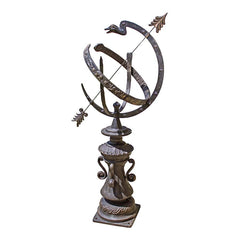 "40"" Victorian Antique Replica Collectible Armillary Sphere Globe"