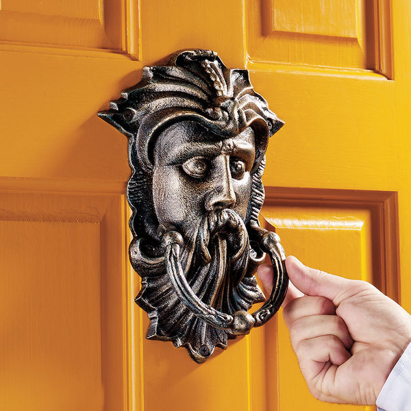 19th-century Victorian Antique Replica House Greenman Authentic Foundry Iron ...