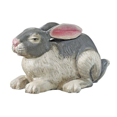 Traditional Bunny Rabbit Cast Iron Statue