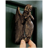 Cast Iron Angel Sculpture Statue Doorknocker