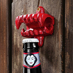 Dracula Cast Iron Bottle Opener