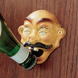 "4"" British Antique Replica 4 Eyes Drunken Sailor Beer Bottle Opener"
