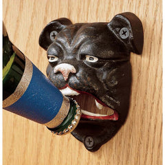 Classic English Replica Bulldog Bottle Beer Opener