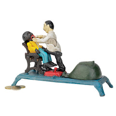 Pulling Teeth Collectible Collectors Die-cast Iron Mechanical Coin Bank - Cla...