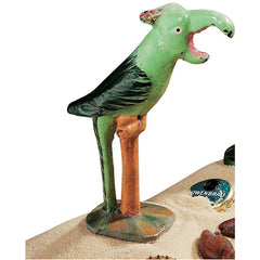 Antique Replica Tropical Parrot Bird Bottle Beer Opener