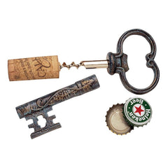 The Bishop's Church Key Corkscrew and Bottle Opener