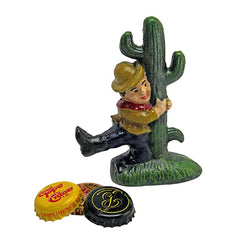 Cactus Cliff Cast Iron Bottle Opener: Set of Two