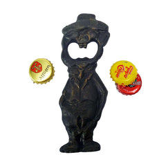 Blabber Mouth Cast Iron Bottle Opener: Set of Two