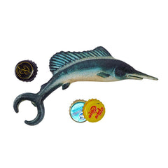 Marlin Fish Cast Iron Bottle Opener- Set of 2