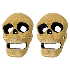 Evil Skull Cast Iron Bottle Opener: Set of Two