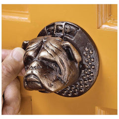 "3"" 19th-century Victorian Antique Replica British Bulldog Sculpture Authentic..."