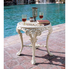 "25"" Luxury Royal Vitorian Decorative Side Table"