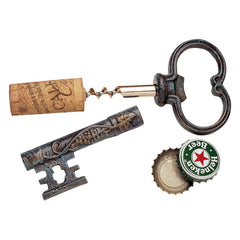 The Bishop's Church Key Corkscrew and Bottle Opener: Set of Three