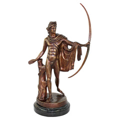 "23"" Museum Replica Roman Apollo Belvedere (350 to 325 BC.) Quality Lost Wax B..."