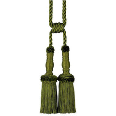 "31.5"" Elegant French Style Dual Tassels for Any Tapestry or Drapery GN"