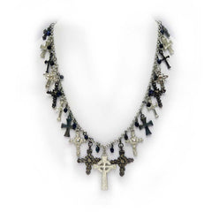 Crosses of History Necklace and Earrings Ensemble Jewelry