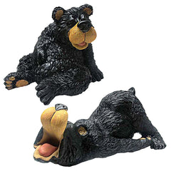 Funny Bears Sculpture Statue - Set of 2