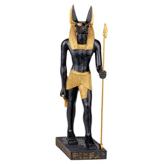 "8.5"" Ancient Egyptian Collectible Statue Anubis Jackal God Sculpture Figurine"