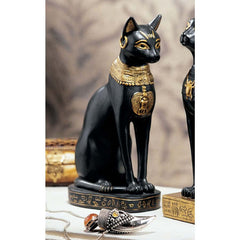"8"" Classic Egyptian Bastet Feline Cat Goddess Sculpture Statue Figurine"