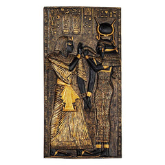 Ancient Egyptian Classics Isis Queen Wall Decor Stele Plaque
