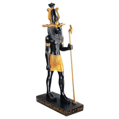 "16.5"" Ancient Egyptian Classic Khnum God Sculpture Statue Figurine"