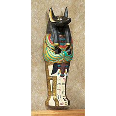 Classic Ancient Egyptian Anubis Wall Statue Sculpture Figurine