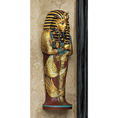 "12"" Classic Ancient Egyptian Sculptures King Tut Wall Statue Figurine"