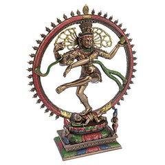 Dancing Shiva Indian Goddess Statue Sculpture
