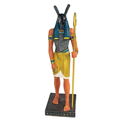 "8"" Classic Ancient Egyptian Gods Statue Khnum Sculpture Figurine"