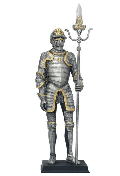 Medieval Armor With Partisan - Knights & Warriors.