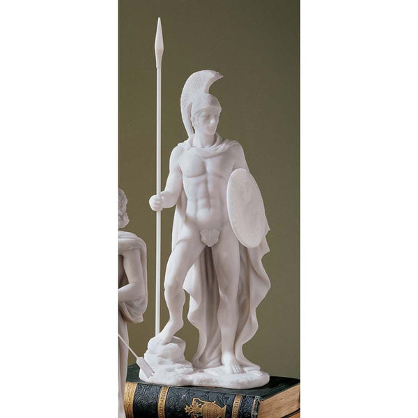 "12.5"" 16th-century Italian Nude Art Ares Greek God Bonded Marble Statue Sculp..."