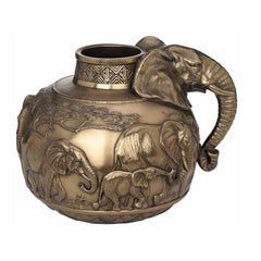 safari-elephants-vase-animal