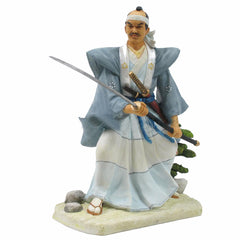 Japanese Samurai Holding Long Sword - Ethnic Collectibles
