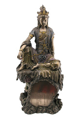 Guan Yin With Heart Sutra - Ethnic Collectibles