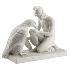 Ganymed Waters Zeus As An Eagle (Marble White) - Myth & Legend