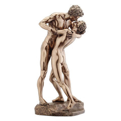 "11.5"" Bronze Nude Embrace Sculpture Statue"