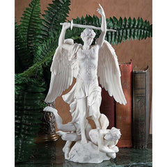 Classic French Replica Fontaine Saint-Michel (1860) Satan's Defeat Marble Scu...