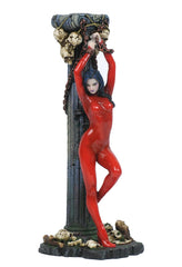 Female In Latex Chained To Roman Column - Myth & Legend