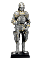 Medieval Armor With Sword, Sallet Helm And Tasset Pockets - Knights & Warriors