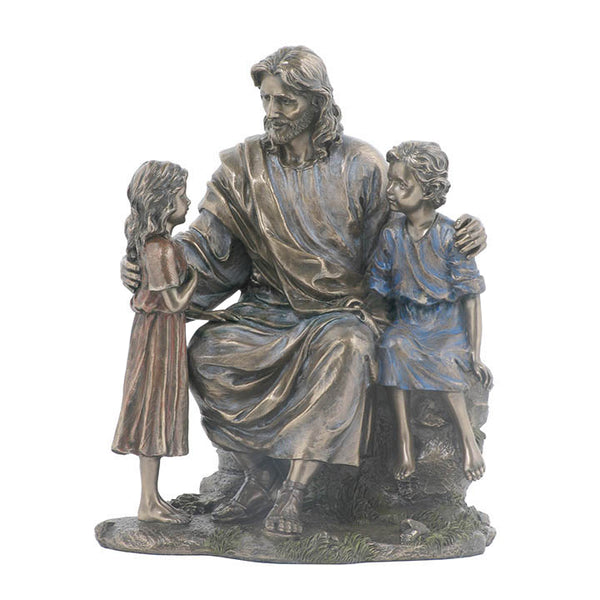 Jesus With Little Boy And Girl - Religious.