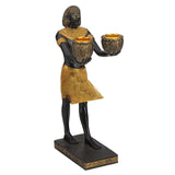 Egyptian Prince Twin Candle Holder - Home Accent.