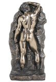 Nude Male Bookend(Bronze) - Artistic Nudes.