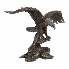 eagle-opening-wingsbronze-animal
