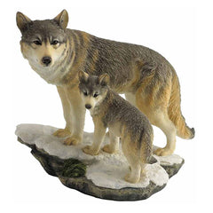 wolf-and-cub-on-cliff-animal