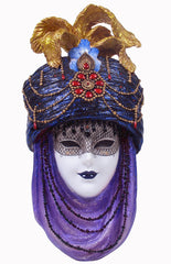 Mask With Turban Wall Plaque - Home Accent