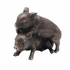 Mini Pigs (Bronze) Animal Sculpture