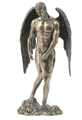 Winged Nude Male Standing - Artistic Nudes.