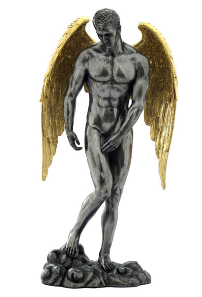 Winged Nude Male Standing - Artistic Body