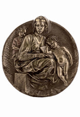 The Pitti Madonna Wall Plaque - Religious.