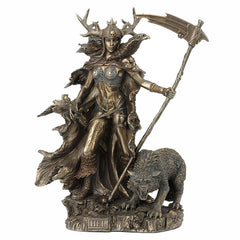 Hel - Goddess Of The Norse Underworld Sculpture